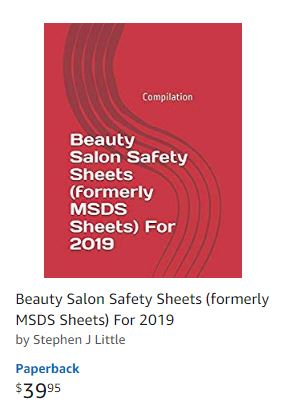 Salon Source Safety Sheets 2019 (Formerly MSDS Sheets )